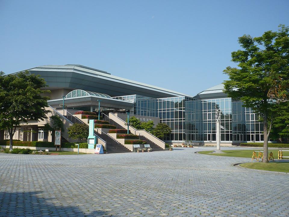 県民体育館外観